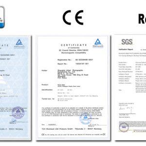Сертификаты соответствия Jinbei DM2