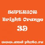 Фон бумажный SUPERIOR Bright Orange 39, LASTOLITE Marigold 9024, COLORAMA Mandarin 95