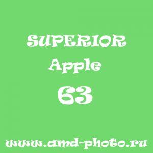 Фон бумажный SUPERIOR Apple 63, LASTOLITE Leaf Green 9046, COLORAMA Summer Green 59