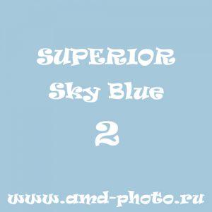 Фон бумажный SUPERIOR Sky Blue 2, LASTOLITE Heaven 9002, COLORAMA Lobelia 77