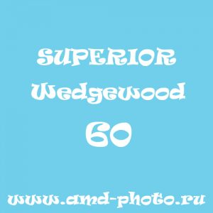 Фон бумажный SUPERIOR Wedgewood 60, Colorama Aqua 02