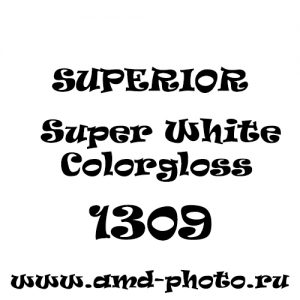 Пластиковый глянцевый белый фон SUPERIOR Colorama Colorgloss 1x1,30 Super White 1309