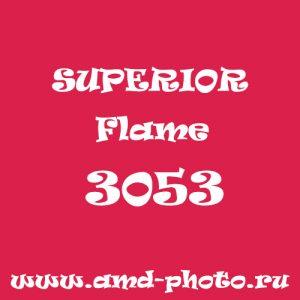 Пластиковый матовый темно-красный фон SUPERIOR Colorama Colormatt Flame 3053
