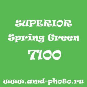 Пластиковый матовый зеленый фон SUPERIOR Colorama Spring Green 7100