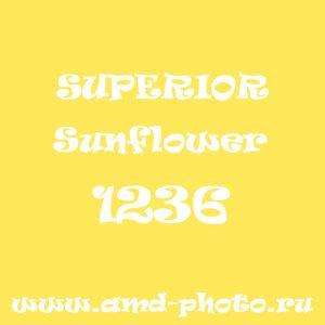 Пластиковый матовый желтый фон SUPERIOR Colorama Sunflower 1236