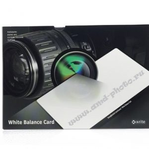 Мишень X-Rite ColorChecker White Balance (M50101) серая карта