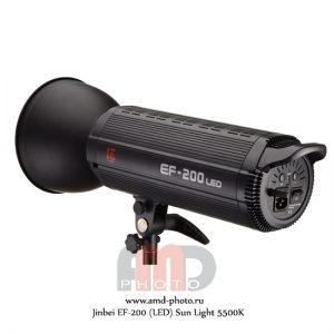Студийный светодиодный осветитель Jinbei EF-200 (LED) Sun Light 5500K