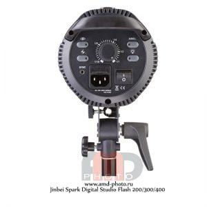 Импульсный источник света Jinbei Spark Digital Studio Flash 200/300/400 Дж