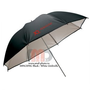 Фотозонт белый отражающий MINGXING Black / White Umbrella