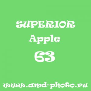 Фон бумажный SUPERIOR Apple 63, LASTOLITE Leaf Green 9046, COLORAMA Summer Green 59