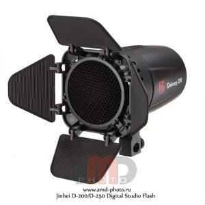 Импульсные источники света Jinbei D-200/D-250 Digital Studio Flash мощностью 200 и 250 Дж