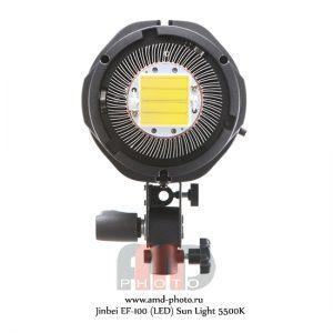Студийный светодиодный осветитель Jinbei EF-100 (LED) Sun Light 5500K