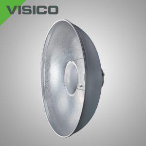 Портретная тарелка с сотовой насадкой Visico RF-550 Beauty Dish grey&silver